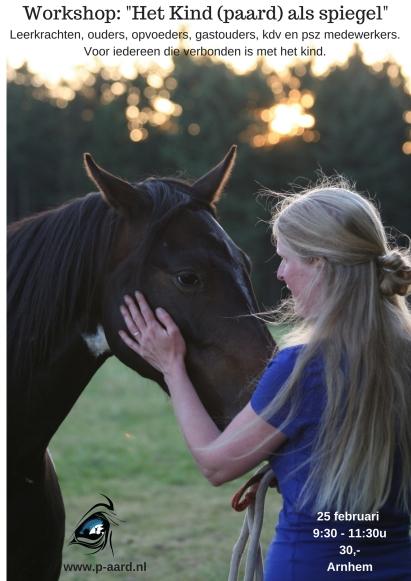 Workshop het kind (paard) als spiegel